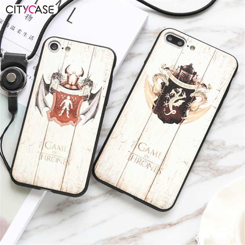 CITYCASE New Arrival Wood PC Phone Case For Iphone 7 7Plus wholesale black bamboo wooden phone case