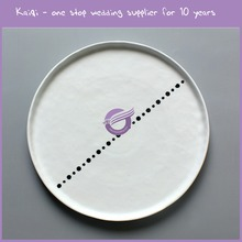 KB167 High Quality Custom Printed Dinner Plates tableware for wedding