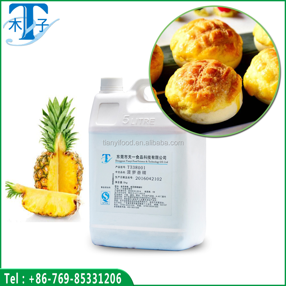 100% organic pineapple flavour/Emulsified pineapple flavor