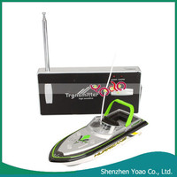 2015 New Style Remote Control Mini Boat RC Fishing Boats for Sale