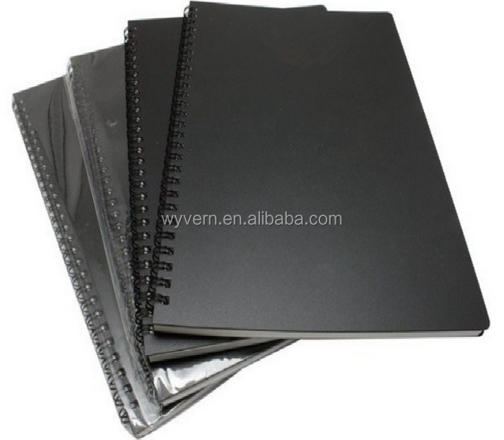 [Wyvern]A5 notebook 60 pages double spiral coil the PP surface.(Details can be customized)