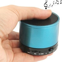 WB-02 Rechargeable Support Handsfree Call Portable Mini Bluetooth Speaker