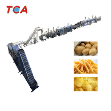 China frozen potato chips machine frozen french fries production
