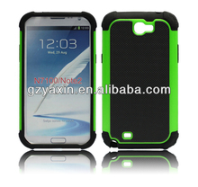Hottest!!! 2014 new design high quality plastic case for samsung galaxy note 2/n7100