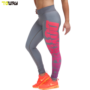 sublimation custom printed leggings for women fitness
