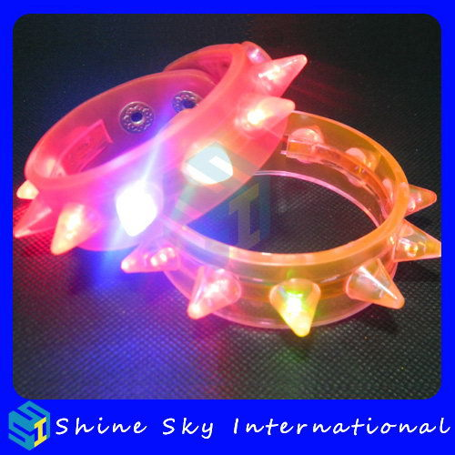 Charm led bracelet, european standard concert customized led bracelet, customized logoled bracelet