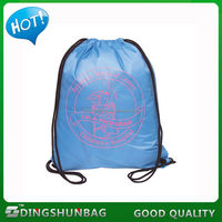 New design promotional classical drawstring cloth laundry bag