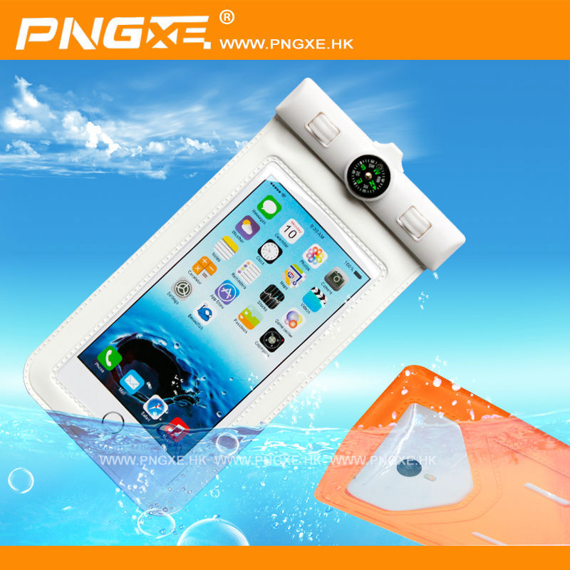 "PNGXE Large size 5.5""-6""phone waterproof case for samsung galaxy note3 one"