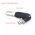 High Speed Leather USB Flash Drive Customized 3.0 USB Stick Custom Logo
