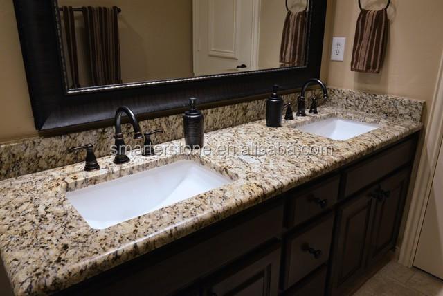 Prefab Vanity Countertops : Prefab granite bathroom vanity and countertop buy