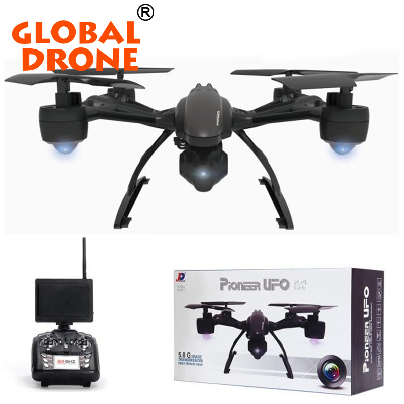 JXD 509G RC Drone with 2MP Camera 5.8G Real-time FPV 6 Axis Gyro Headless Mode Altitude Hold Quadcopter Helicopters Auto-return
