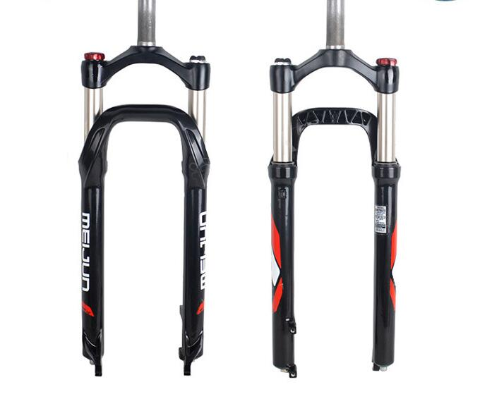 Aluminium Alloy Snow beach sand fork 26*4.0 fat mountain bike Electric suspension cruiser 135mm snow bicycle fork