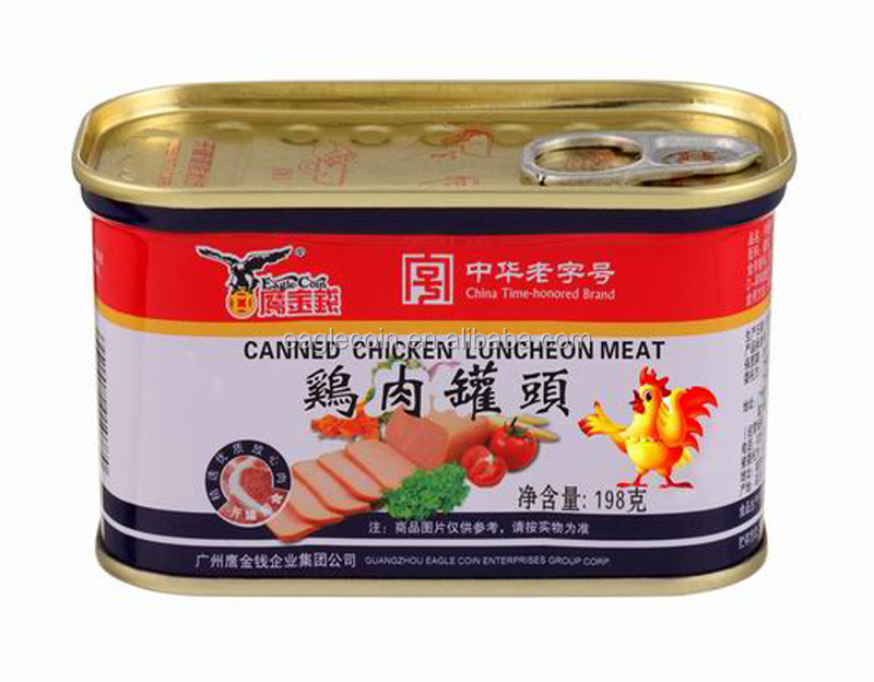 Wholesale Products Halal Canned Chicken Luncheon Meat