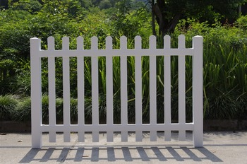 Factory price vinyl fence, white plastic fence, composite fence