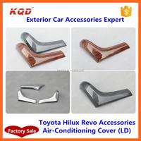 new toyota hilux revo interior car accessories chrome accessories air conditionin cover for toyota hilux revo accessories 2016