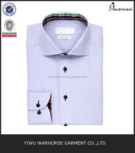 light blue stylish dress shirts for men