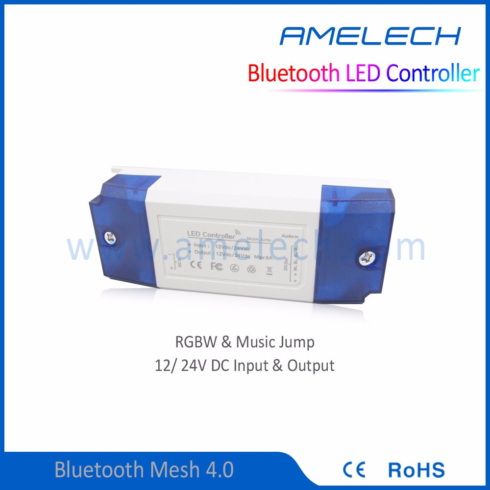 wireless controlbluetooth mesh 4.0 christmas light controller music