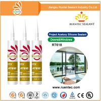White and gray Environmentally Resistant cheap price silicone sealant to india for power supply