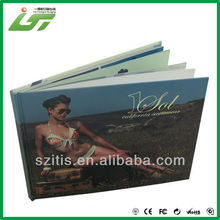 Luxury custom high quality cd hardcover book