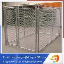 Factory Direct Sale New design unique galvanized Steel cheap Chain Link Dog Run Kennels pet kennels