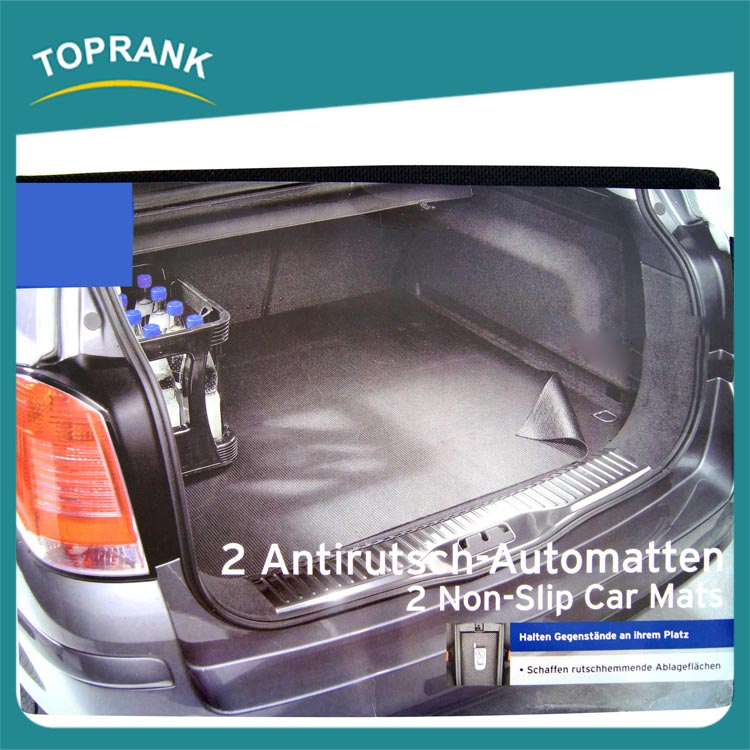 Car trunk mat 120*120CM PVC plastic,rubber car mat,DECORATIVE CAR MATS