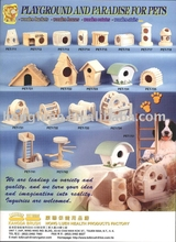 Non-toxic Unique Design Wooden Pet House For Dogs And Cats