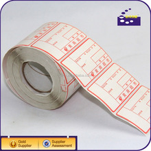 Direct thermal label sticker in jumbo roll
