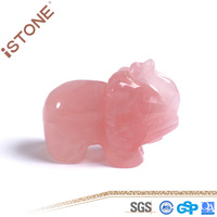 Wholesale Stone Crafts Elephant For Feng Shui Home Decotation
