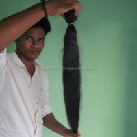 Large Stock 6A Virgin Brazilian Virgin Human Hair for Sale from india