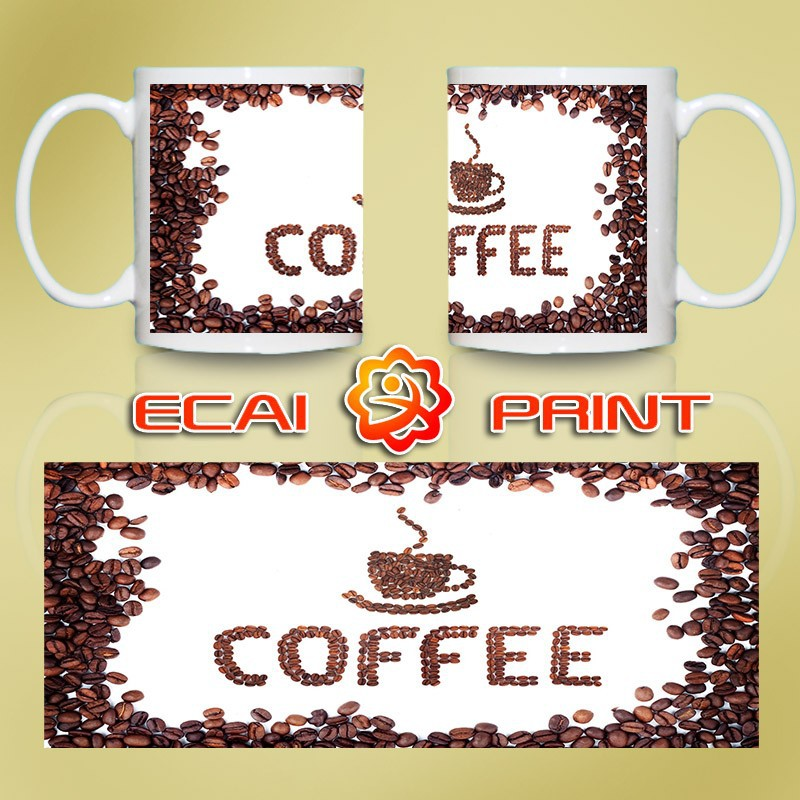 Custom made printed decorative coffee mug
