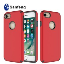 Decorate mobile phones back cover for girls for Iphone 7 red color phone case