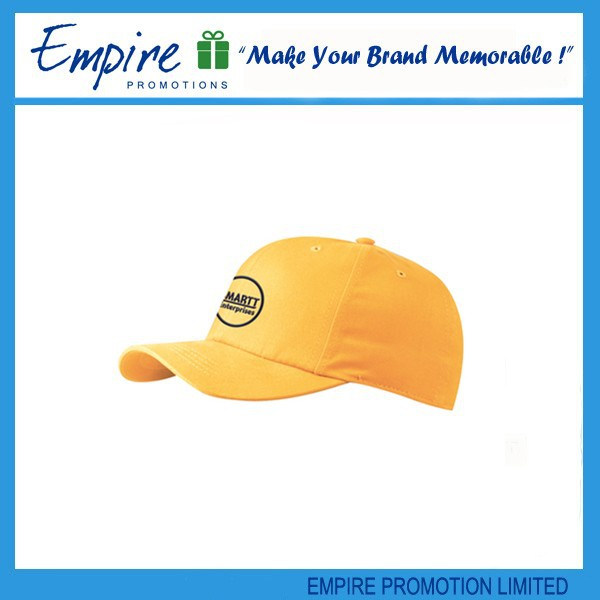 Promotional high quality cool cotton cheap name brand baseball caps