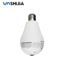 New 960P light bulb security spy hidden invisible wifi cctv camera