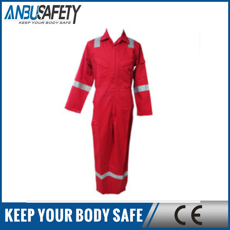Hot selling engineering uniform working coverall flame retardant coverall with reflective for welding anti-static work clothing
