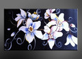 flowers oil painting for decoration