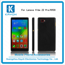 [kayoh]make your own phone case Smart Crocodile veins Leather Cover Cases for Lenovo VIBE Z2 Pro K920