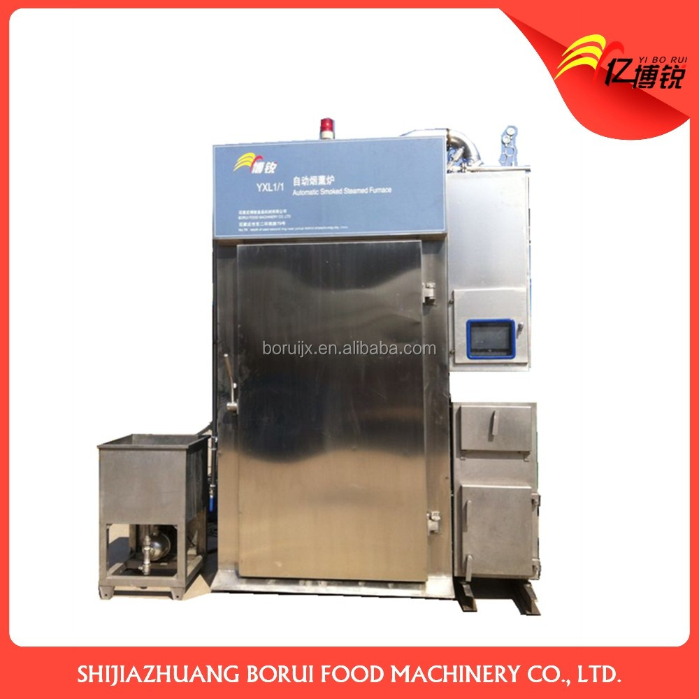Commercial Industrial 250kg capacity Meat Sausage Smoke House Oven