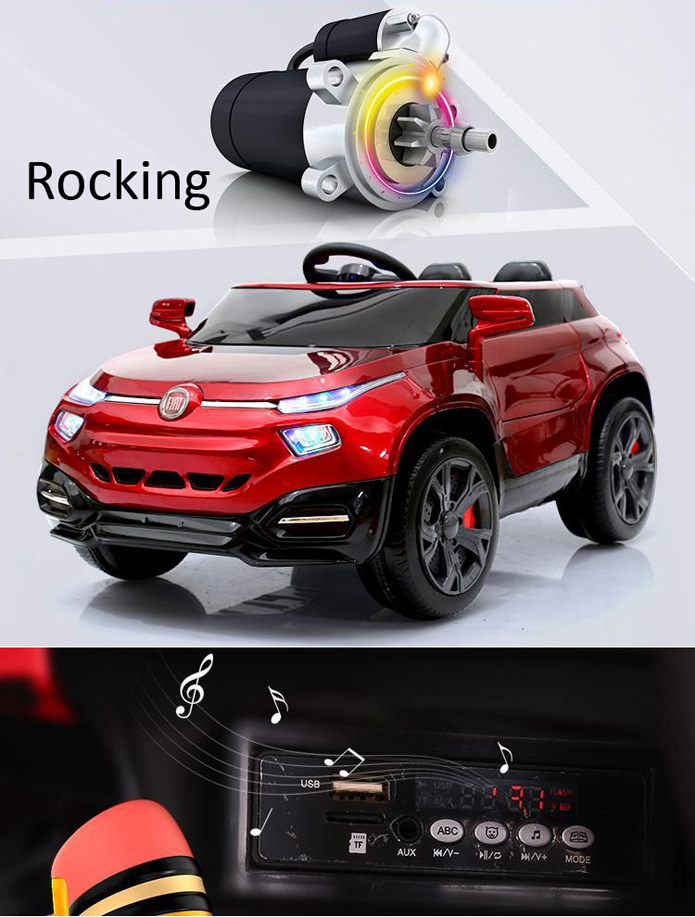 FIAT licensed SUV ride on electric car for kids remote control