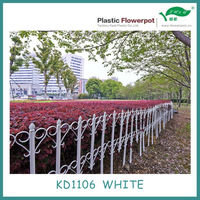 KD1106 plastic cheap garden fence