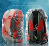 Disposable RainCover Large Bike Bag Cycling Backpack Bicycle Waterproof Rain Cover for Outdoor Climbing Travel 20L 30L 40L 50L