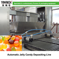 Advanced and continuous jelly candy machine