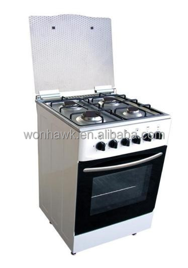 (520*570*890mm) 4Burner Gas Range Stove&Oven With Blue Fire Hottest Selling