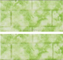 Green onyx wall panel with XPE Polyethylene foam material