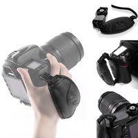 SLR/DSLR PU Leather Camera Hand Wrist Band Mount Strap For Go Pro Samsung Panasonic Accessories