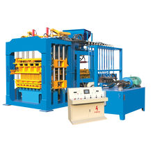 QT8-15 concrete block machinery industry equipment /construction brick brick force wire making machine south africa