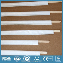 Disposable Wooden Paint Coffee Stirrer