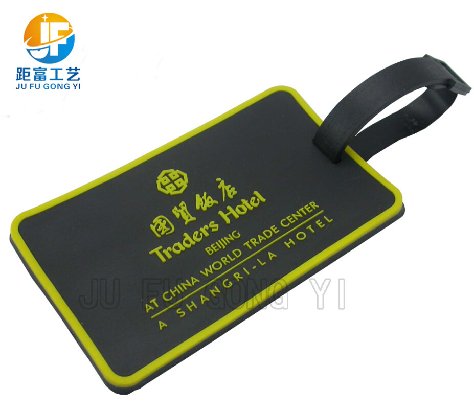 PVC Round Luggage Tag,Cheap Handbag Tag