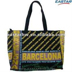 wholesale canvas color tote bag for gift