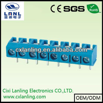 Pcb 5.0mm Terminal Block Screw damp LL301R-5.0