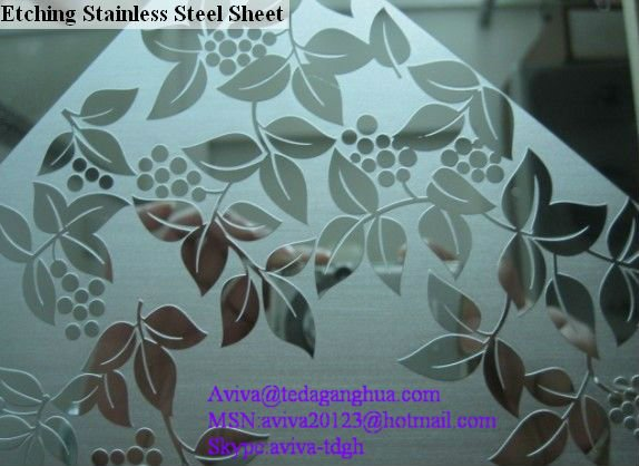 Texture Stainless Steel Sheet 200/300 Series
